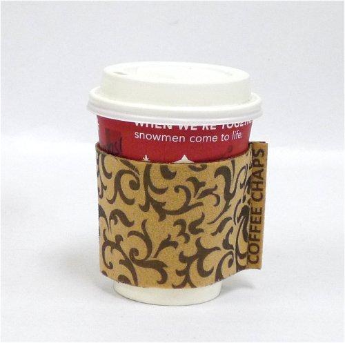 Coffee Chaps: Paisley Swirl - Brown (CC1114)