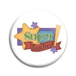 Button Pin: Super Teacher! (GT5038)