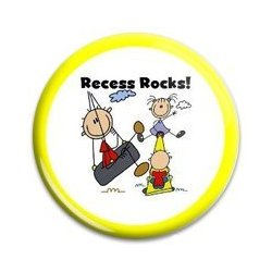 Button Pin: Recess Rocks! (GT5044)