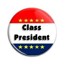 Button Pin: Class President (GT5050)