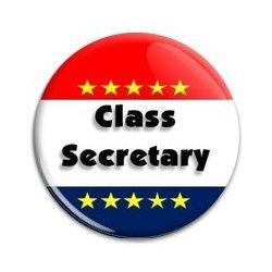 Button Pin: Class Secretary (GT5052)